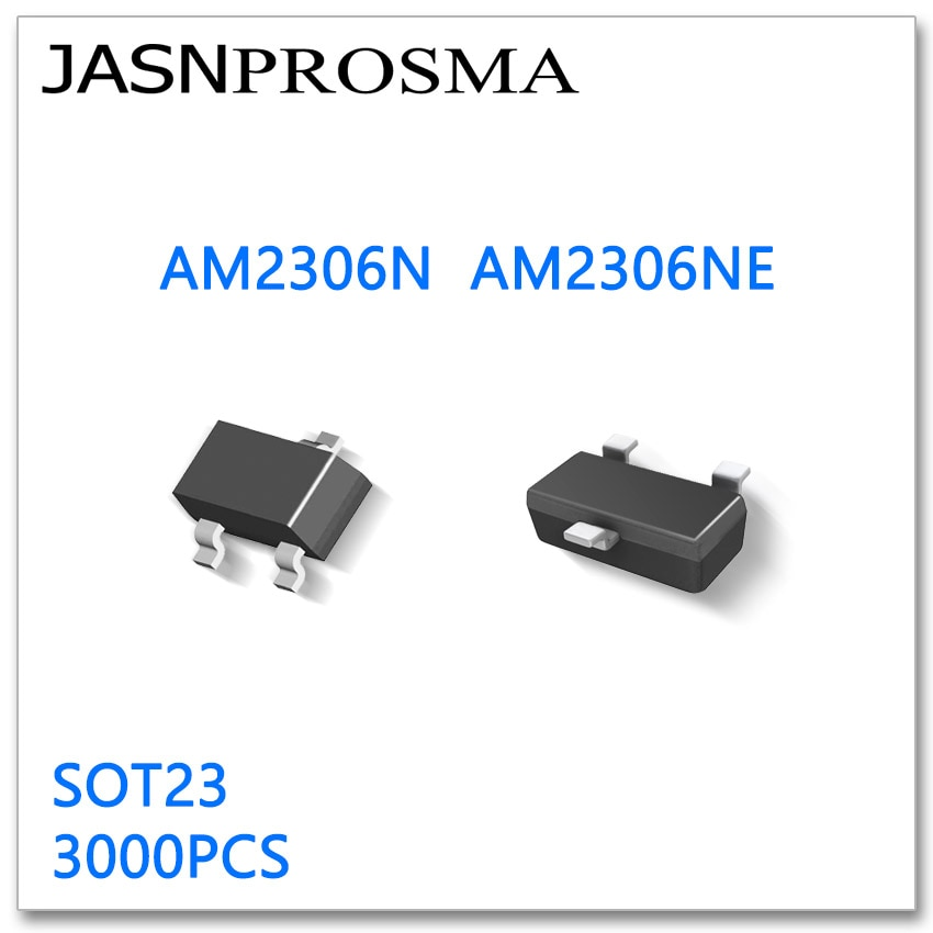 JASNPROSMA AM2306N AM2306NE SOT23 3000PCS N-Channel 20V 30V High quality Made in China AM AM2306