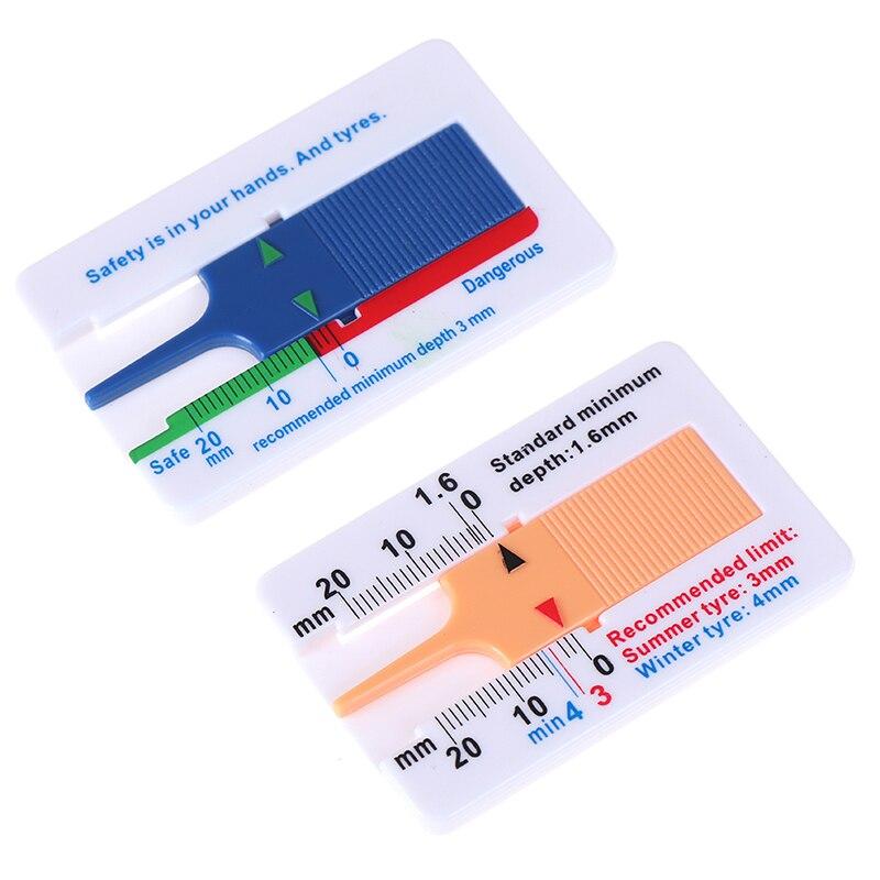 1Pcs Dieptemeter 0-20mm Autoband Loopvlak Dieptemeter Measurer Tool Hoge Kwaliteit