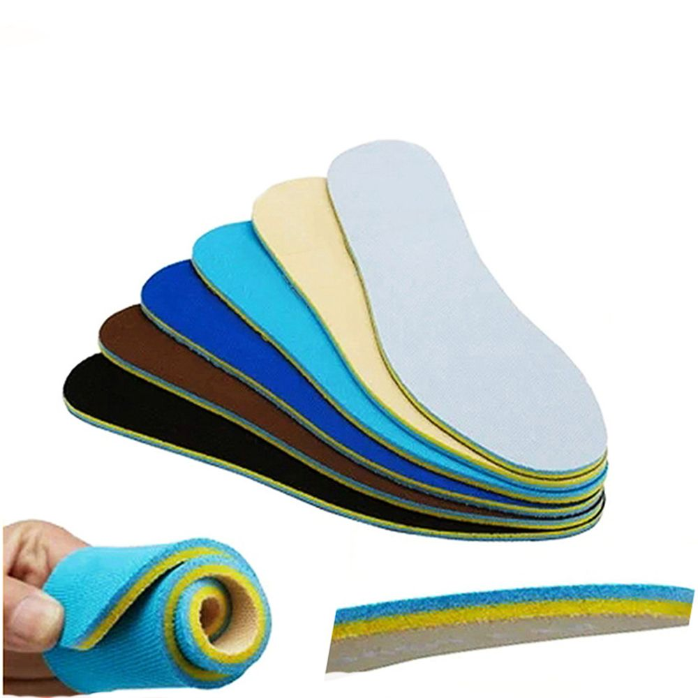 10 pair deodorant insoles for shoes women men soft breathable sport shoe sole inserts health care foot massager comfort shoe pad 1 Pair Memory Foam Sport Shoe Insoles Sweat Absorbent Deodorant Foot Care Soft Pain Relief for Men Women