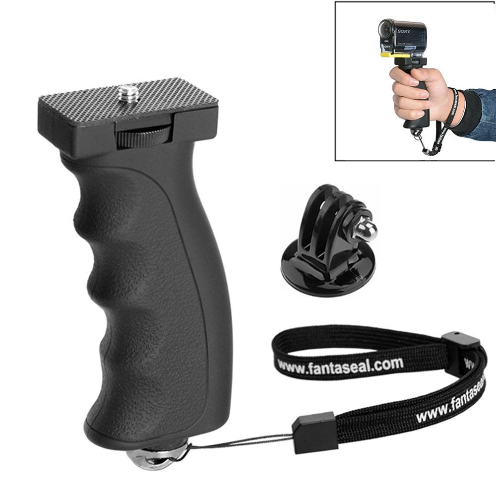 Empuñadura de mano para cámara vídeo Vlog soporte de mano estabilizador trípode monopié soporte de mano para Sony HDR AS300 AS200 AS100 AS50