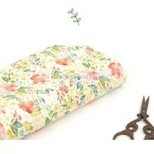 South Korea imported  cotton fabric, digital printing garden, wind handmade DIY clothing dress baby