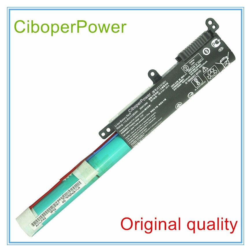 Qualidade Original 10.8 V 36WH Bateria Para R541UA A31N1601 X541SA X541SC X541UV X541