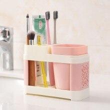 Fashion multifunctional Bathroom toothbrush rack washroom suit toothbrush holder enlarge