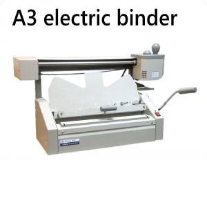 ماكينة تجليد الكتب الكهربائية, أفضل جودة A3 مقاس 460x325 مللي متر (18