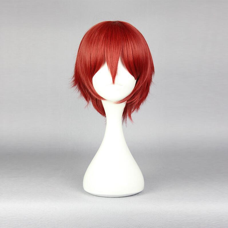Japanese Anime Assassination Classroom Akabane Karma Red Cosplay Hair