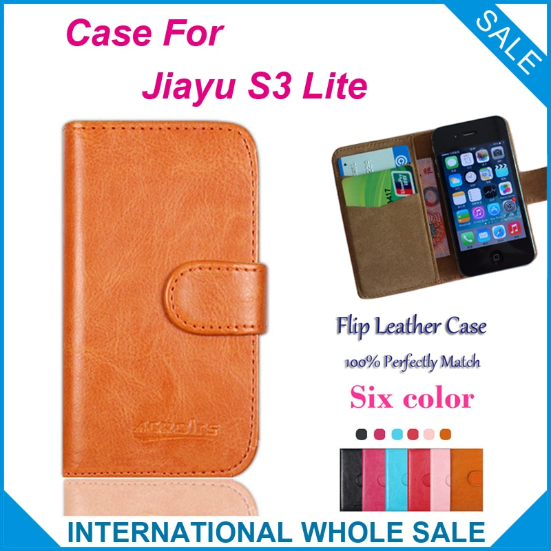 Jiayu S3 Lite funda de alta calidad de moda cartera soporte de cuero para Jiayu S3 Lite funda + número de seguimiento