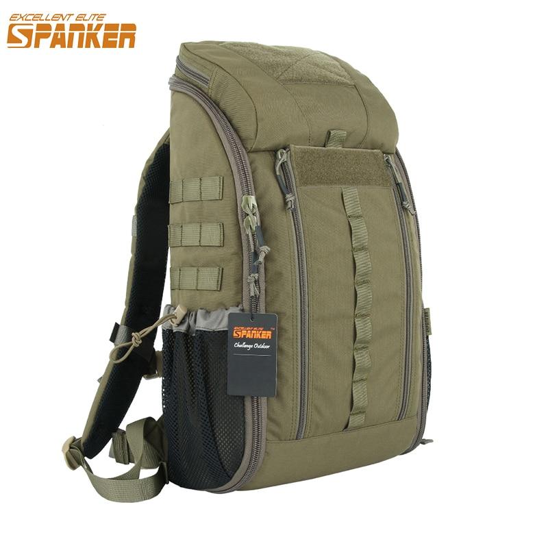 Excelente ELITE SPANKER al aire libre táctico MOLLE mochila médica impermeable táctico camuflaje bolsas militar caza mochila
