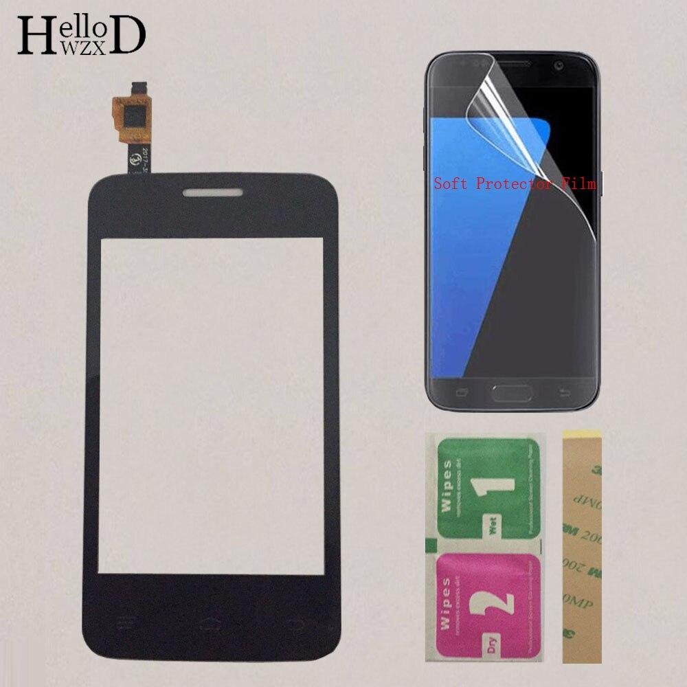 3.5 TouchScreen Tela de Toque Do Telefone Móvel Para Fly IQ IQ434 434 Protetor de Tela Touch Panel Digitador Sensor de Vidro Da Frente filme