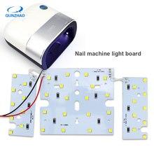 Sun3 appareil pour manucure 48W Uv Led sèche-ongles ampoules remplaçables panneau lumineux vernis manucure lampe remplacement