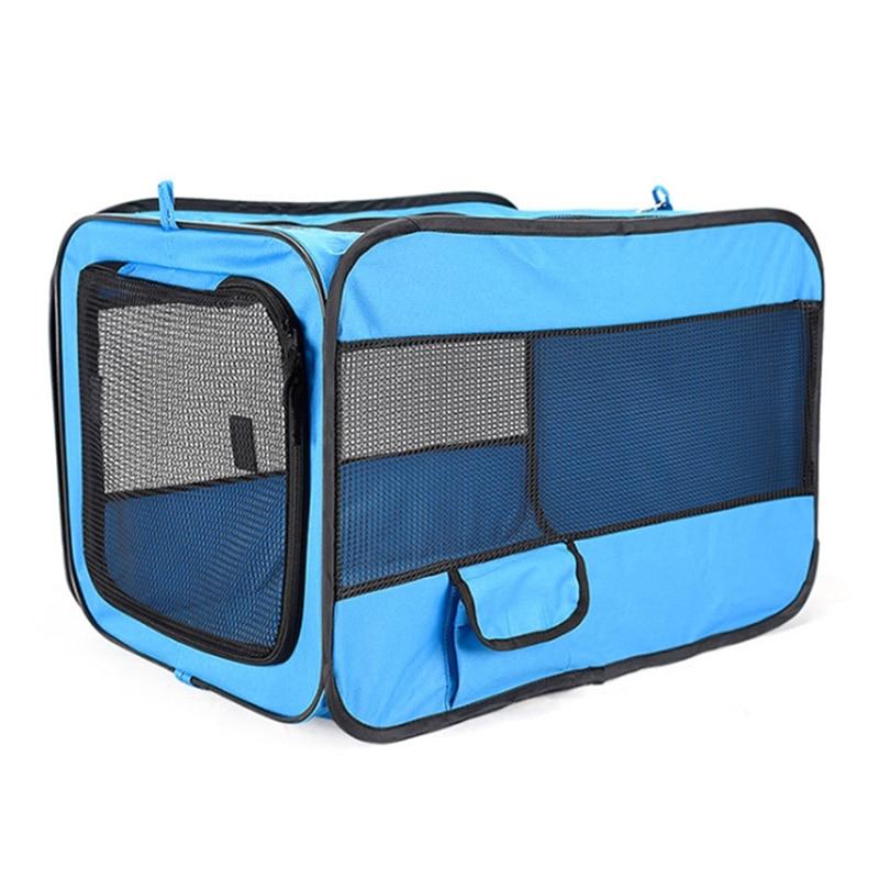 Автомобильные дорожные аксессуары для домашних питомцев S M L 600D из ткани Оксфорд, переноски для собак и кошек, складной фотопалатка с коврик...