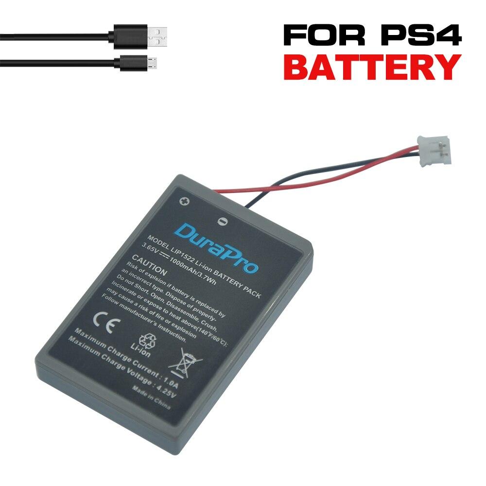 2 szt. LIP1522 nowy akumulator litowo-jonowy do kontrolera Sony Playstation PS4 GamePad z kablem ładującym USB