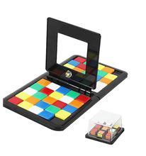 Przestrzenne Puzzle 3D Puzzle wyścig Cube gra planszowa dla dzieci dorośli edukacja zabawki dla rodziców i dzieci podwójna prędkość gry magiczne kostki