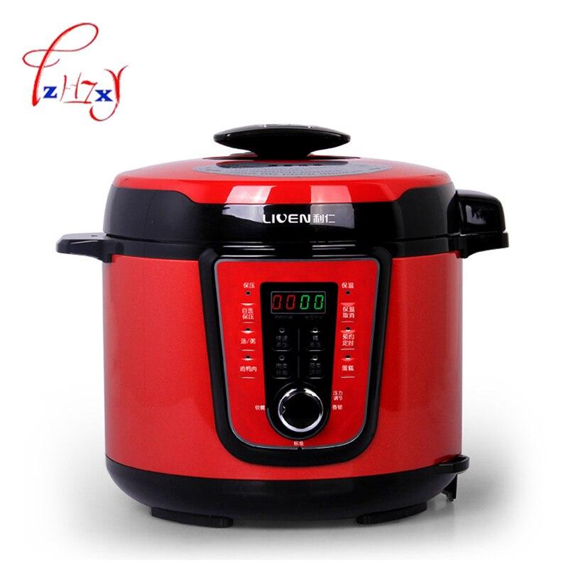 المنزل استخدام طناجر الضغط الكهربائية 5L التلقائي 900w جهاز طهي الأرز جهاز طهي الأرز بالضغط جهاز طهي الأرز DNG-5000D 1 قطعة