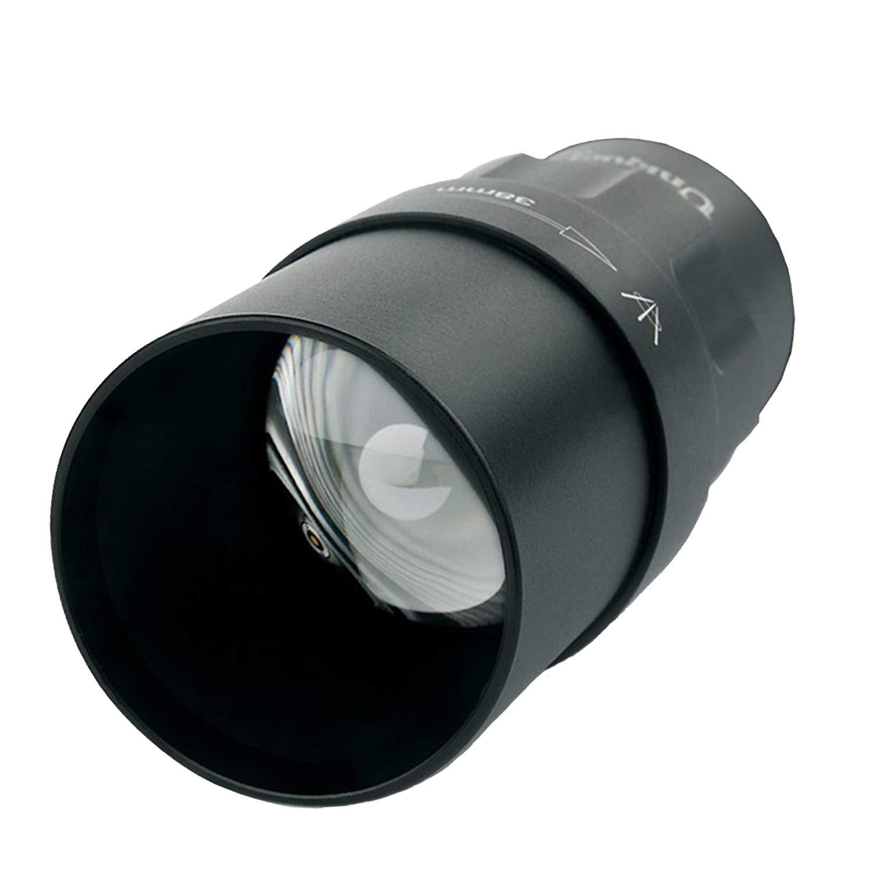 UniqueFire T38(38MM) lente convexa, cabeza de la lámpara, recambio cambiable para UF 1605 XML/XRE/850NM/940NM, solo linterna/antorcha