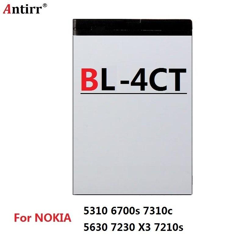 Запасная батарея телефона для BL-4CT BL4CT NOKIA 5310 6700s 7310c 5630 7230 X3 7210s