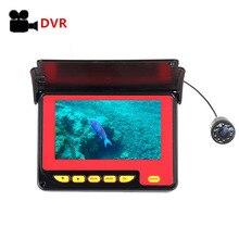 Fish Finder Pro 4,3 ''1000TVL impermeable océano hielo cámara de pesca submarina inalámbrica echo sounder
