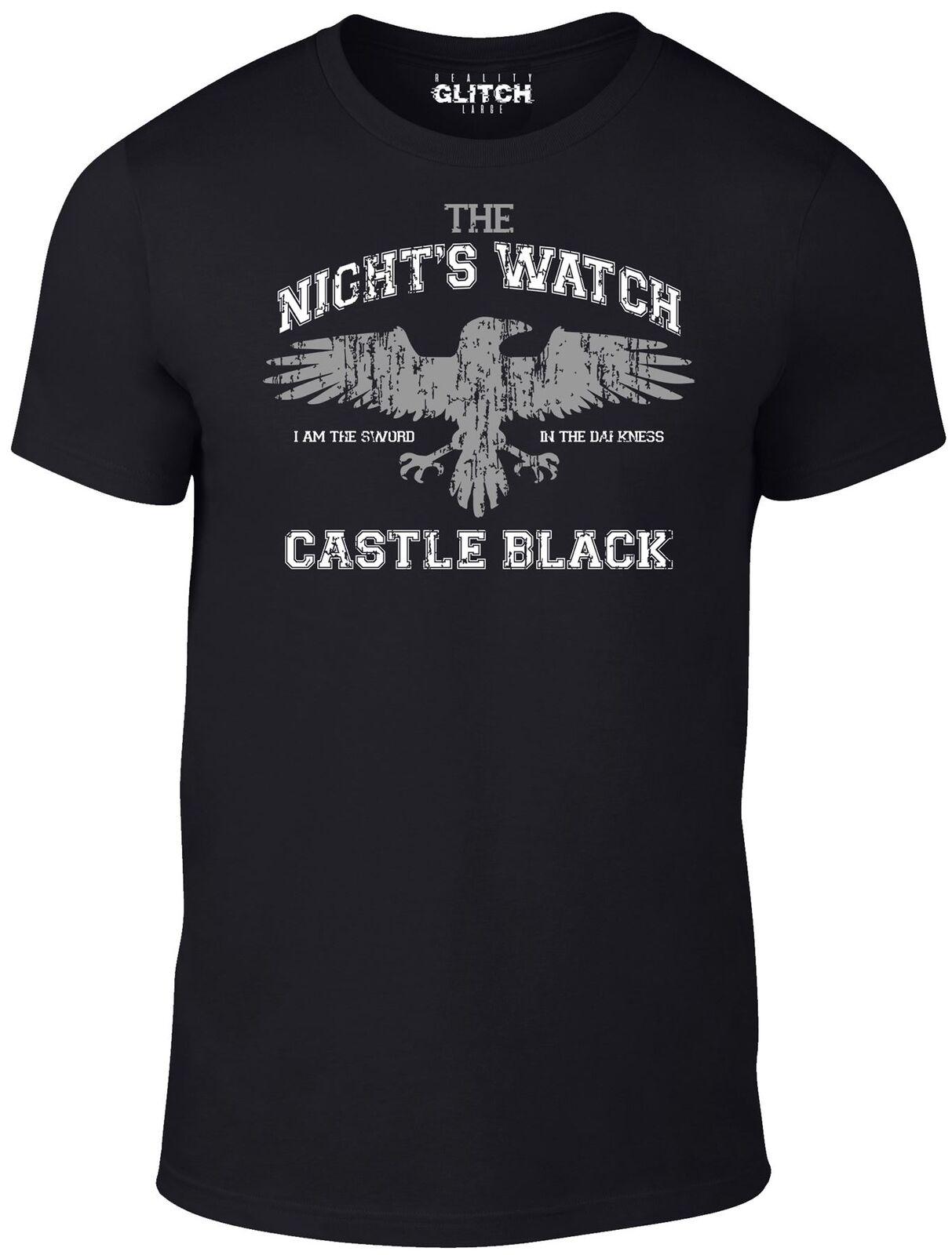 La noche es Cuervo camiseta-Jon nieve juego de cuervo tronos TV invierno regalo película de HBO