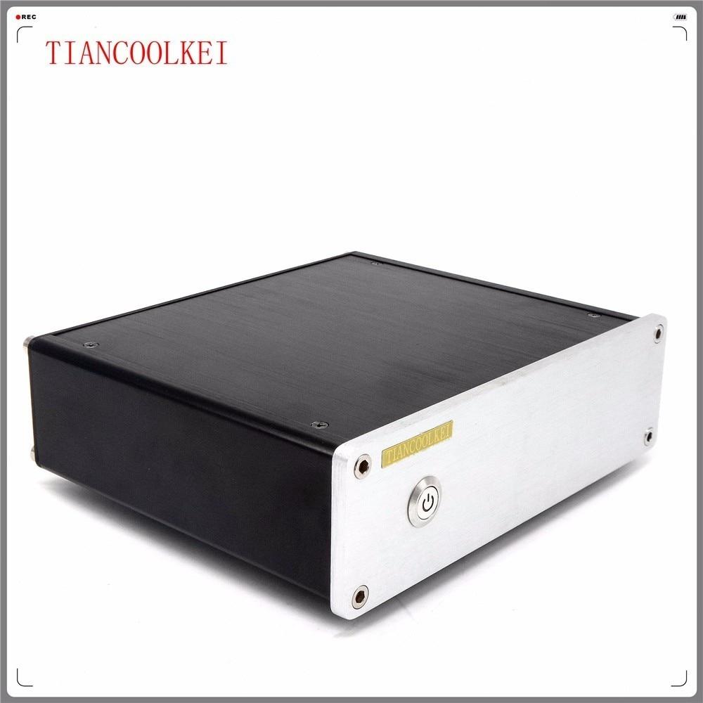 TIANCOOLKEI CS4398 24Bit 192KHz USB Audio decoder supports fiber Or coaxial Professional amplifier PC HiFi DAC enlarge