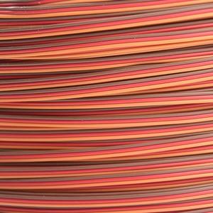 5m/10m Servo JR Color Extension Cable 3p Line Futaba JR Aircraft Model Wiring Wholesale 30 core x0.08mm 1.2mm