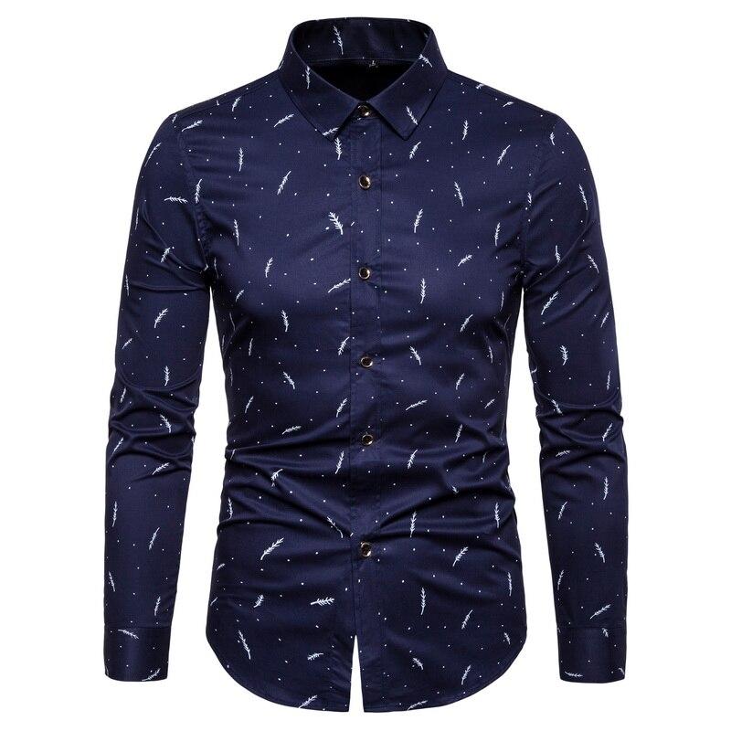 Camisa de marca de diseñador de moda 2020, Camisa de algodón para hombre, ropa de calle 5xl ajustada, ropa informal de alta calidad de manga larga