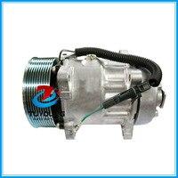 sd 7H15HD FLX7 SD 709 SD 4872 N83304054 AC Compressor For Heavy Duty Semi Truck CO 4872C 68165 304054