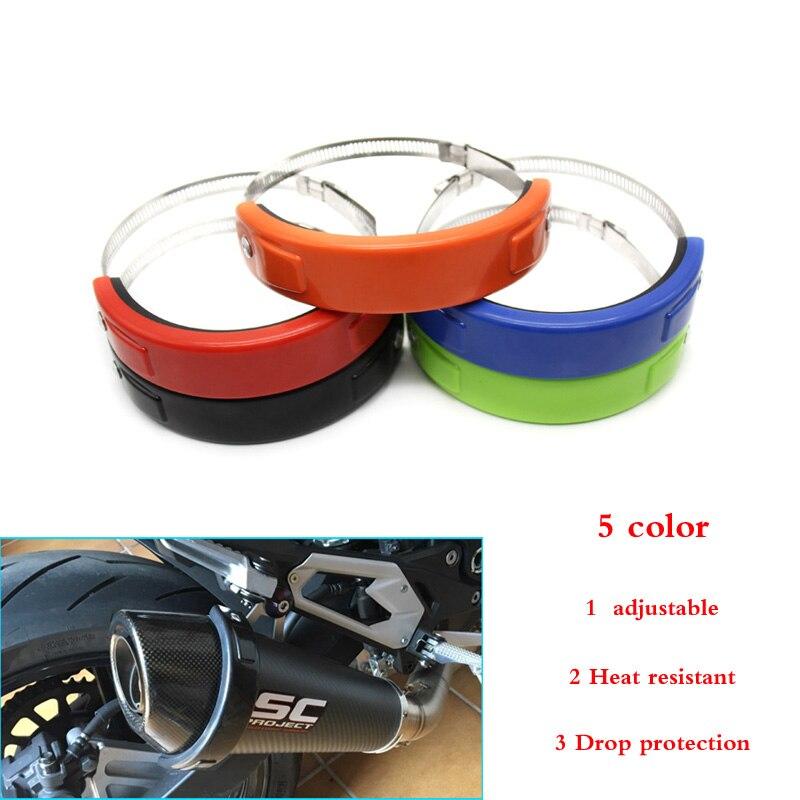Для BMW S1000RR S1000R K1200S K1200R аксессуары для мотоциклов глушитель/круглая овальная защита для выхлопных газов