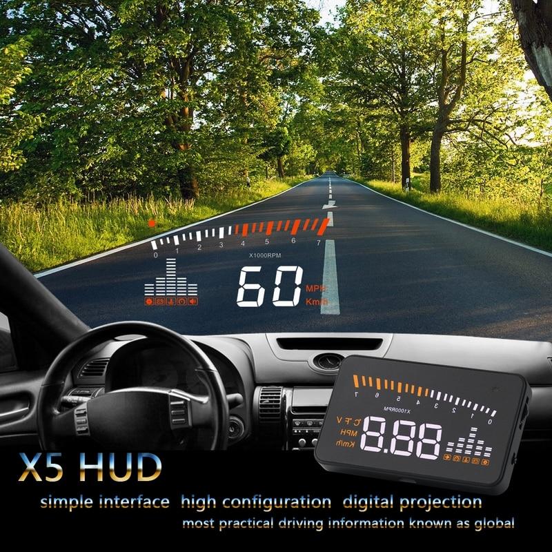 Pantalla de 3,5 pulgadas coche hud head up display Digital velocímetro de coche para bmw f10 f20 f30 x1 x5 x3 x6 m1 m3 m4 m6 f31 535gt 520i