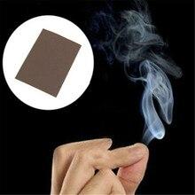 5 sztuk magiczna sztuczka pali niespodziankę Prank Jok magiczny dym z palca Tipse mistyczna zabawa ciekawe gorący bubel