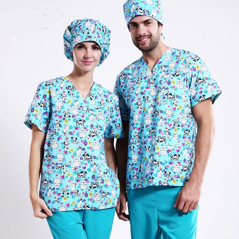 Горячее предложение! Распродажа! Новое поступление медицинская одежда с принтом