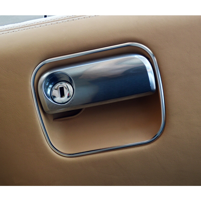 Aluminium alloy Interior Glove box switch frame decorative cover trim for Porsche Panamera Cayenne Macan Car styling