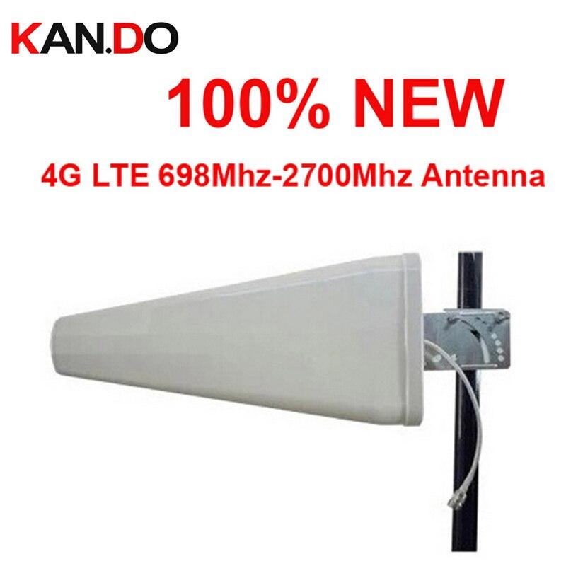 Para Rusia 100% nueva antena 11dbi 4G 890-2700 Mhz LTE exterior LDP panel antena, antena direccional de refuerzo WCDMA para amplificador 4G