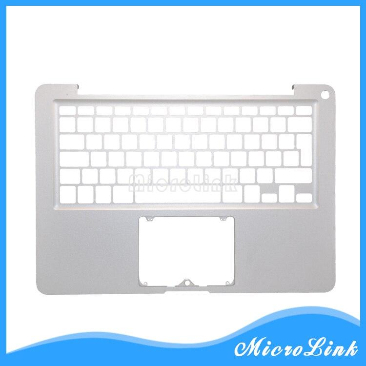 "Para macbook pro 13 ""a1278 caso superior uk ue layout topcase 2011 2012/palmrest caso superior sem teclado"