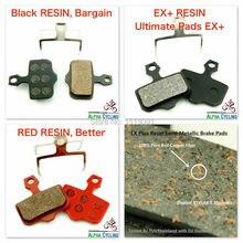 Plaquettes de frein à disque vtt pour AVID Elixir R, CR, CR Mag, 1/3/5/7/9, X.0, XX frein à disque, 4 paires/ORD