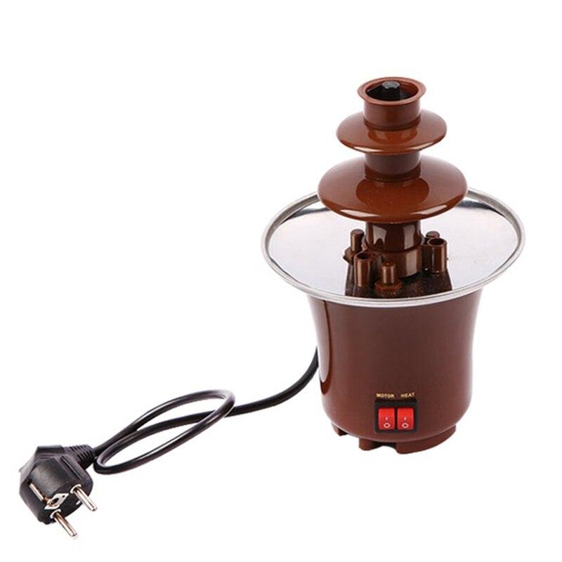 65W POWER CHOCOLATE FOUNTAIN Creative Design Mini Chocolate Fountain For Sale Fondue Machine Chocolate Melts
