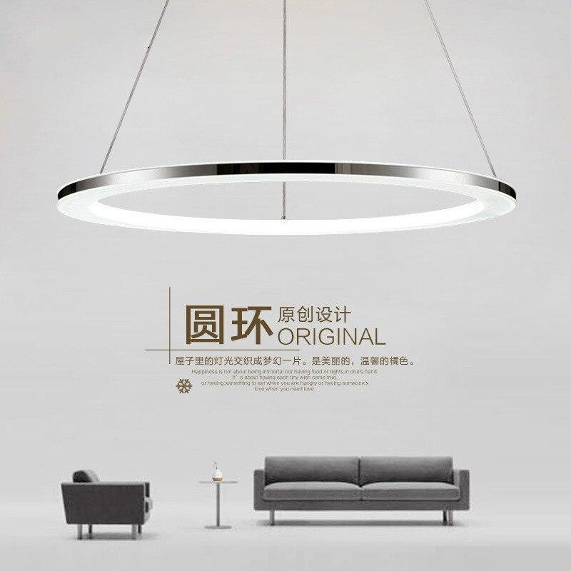 Luces colgantes led modernas para comedor, sala de estar, dormitorio y cocina
