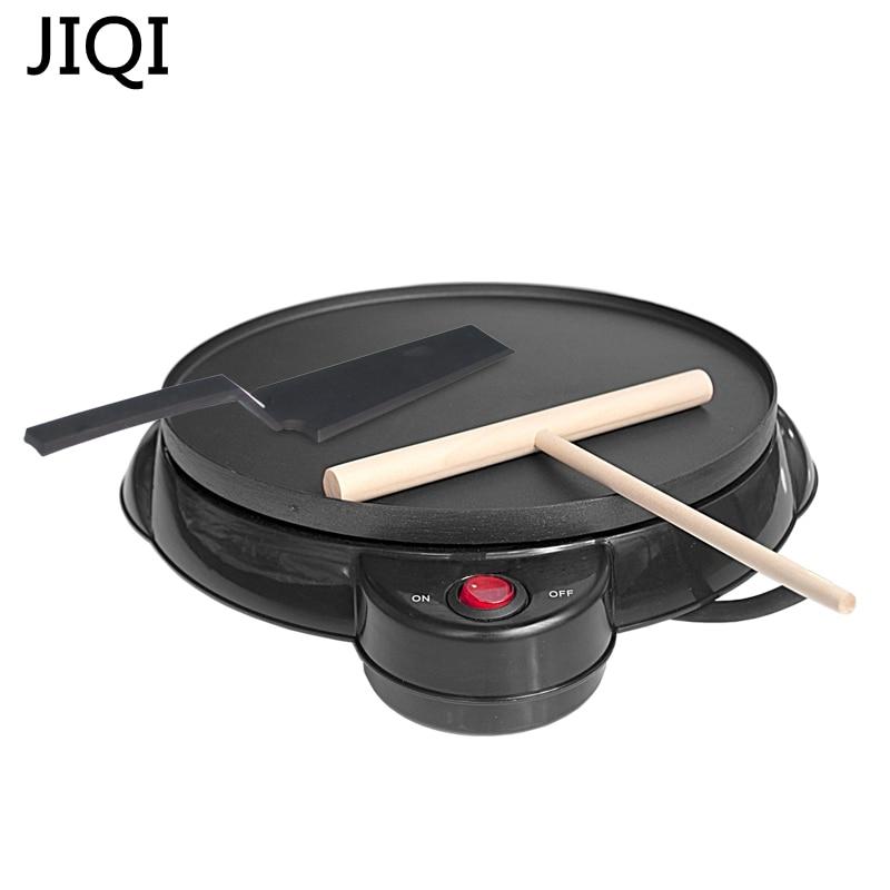 JIQI électrique crêpière crêpière cuisson Pan cuisine outils printemps rouleau machine oeuf rouleau machine gâteau fabricant ue US adaptateur