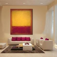 JQHYART Mark Rothko-peinture à lhuile classique   Tableau mural, Art, décor de maison, toile imprimée salon moderne sans cadre