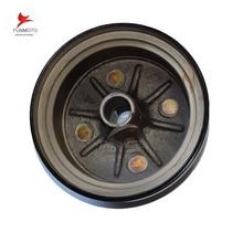 Couvercle de frein tambour dent 27 pour ancien modèle de JS250ATV   250 ATV roue arrière, couvercle de frein, dent unie,