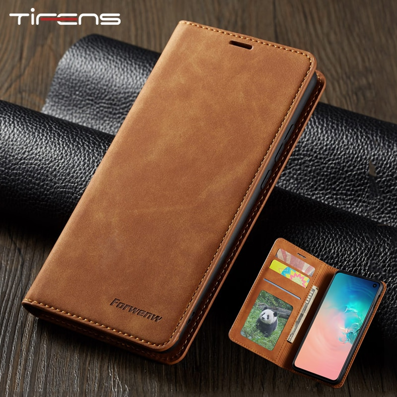 Leather Flip A51 A71 A21S A12 Case For Samsung S21 S20 FE S10 S9 S8 Plus Note 9 10 Ultra A42 A50 A70