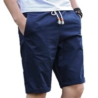 hot 2021 newest summer casual shorts mens cotton fashion style man home shorts asian size men male with pocket