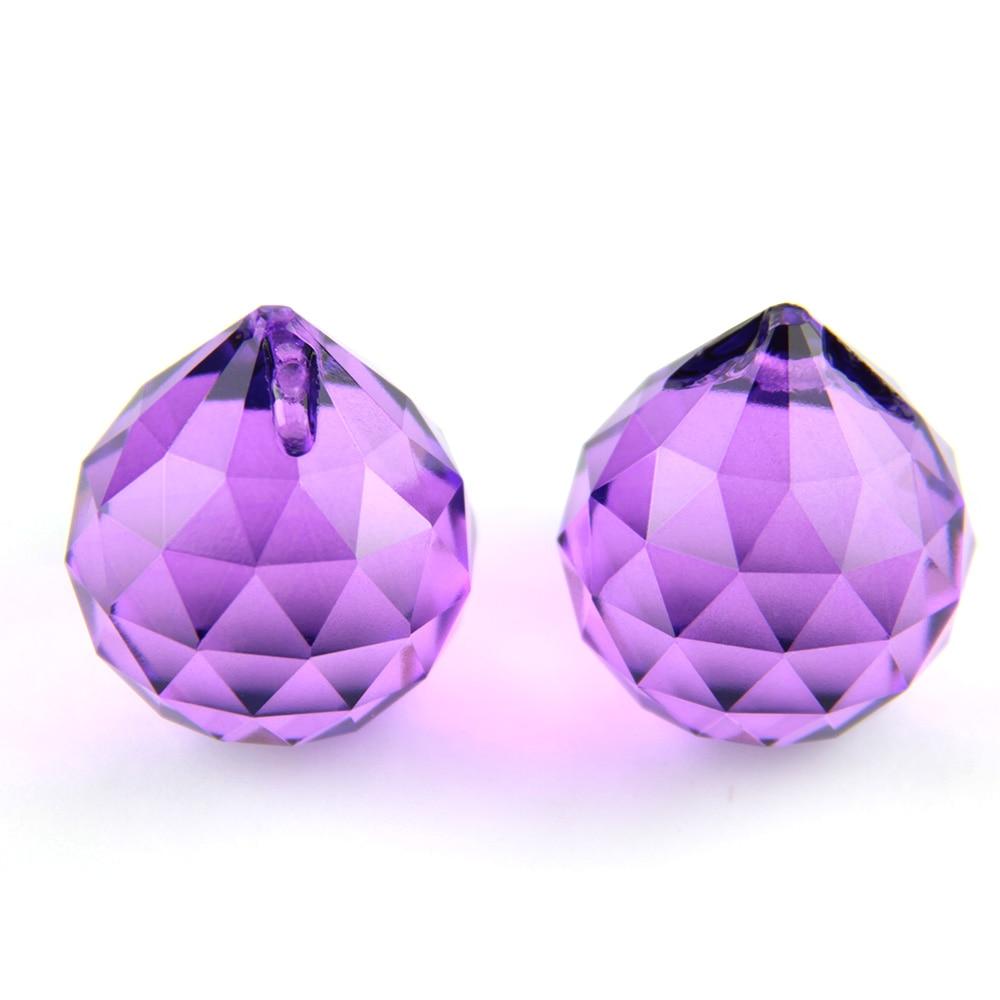 Хрустальный шар Призма 15 мм-40 мм граненый стеклянный шар фэн шуй смешанные цвета хрустальные призмы стеклянные хрустальные подвески для люстры