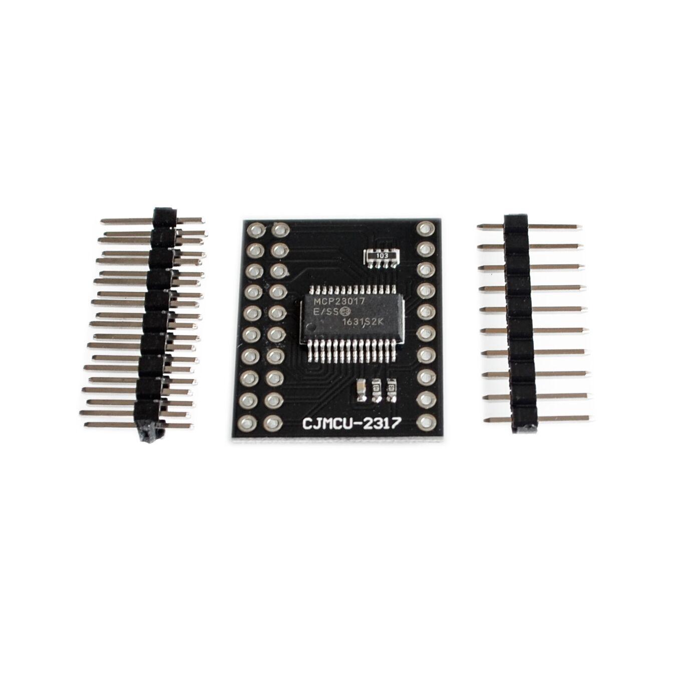 Модуль последовательного интерфейса MCP23017 IIC I2C SPI MCP23S17 двунаправленный 16-битный расширитель ввода/вывода Pins 10 МГц серийный интерфейсный модуль
