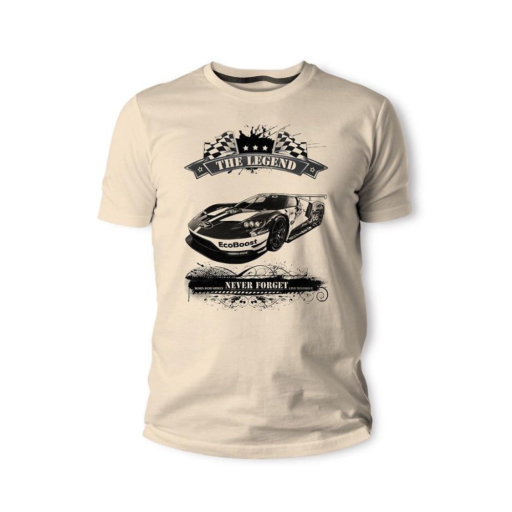 American Classic Muscle Car Focus Gr. B Rally Capri Mk12 hombres 2018 ropa de marca camisetas Casual diseño masculino camisetas baratas