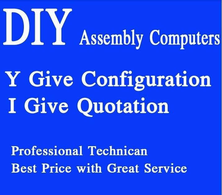 Heißer Verkauf Diy Host-Computer, Server, kompatibel Computer, home Office Montiert Desktop Mini Pc, Xeon Server