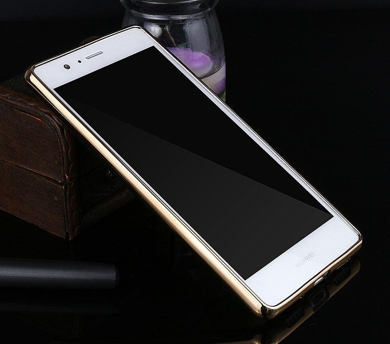 Poszycie telefon skrzynka dla huawei p9 lite pokrywa silikonowa ultra cienkie miękkie przezroczysty tpu tylna pokrywa dla huawei p9 lite luksusowe złota 12