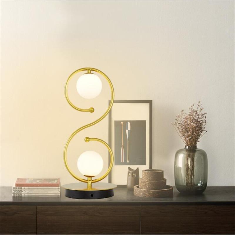 l86 simple nordic casa lampada de mesa de cabeceira criativo lampada de protecao