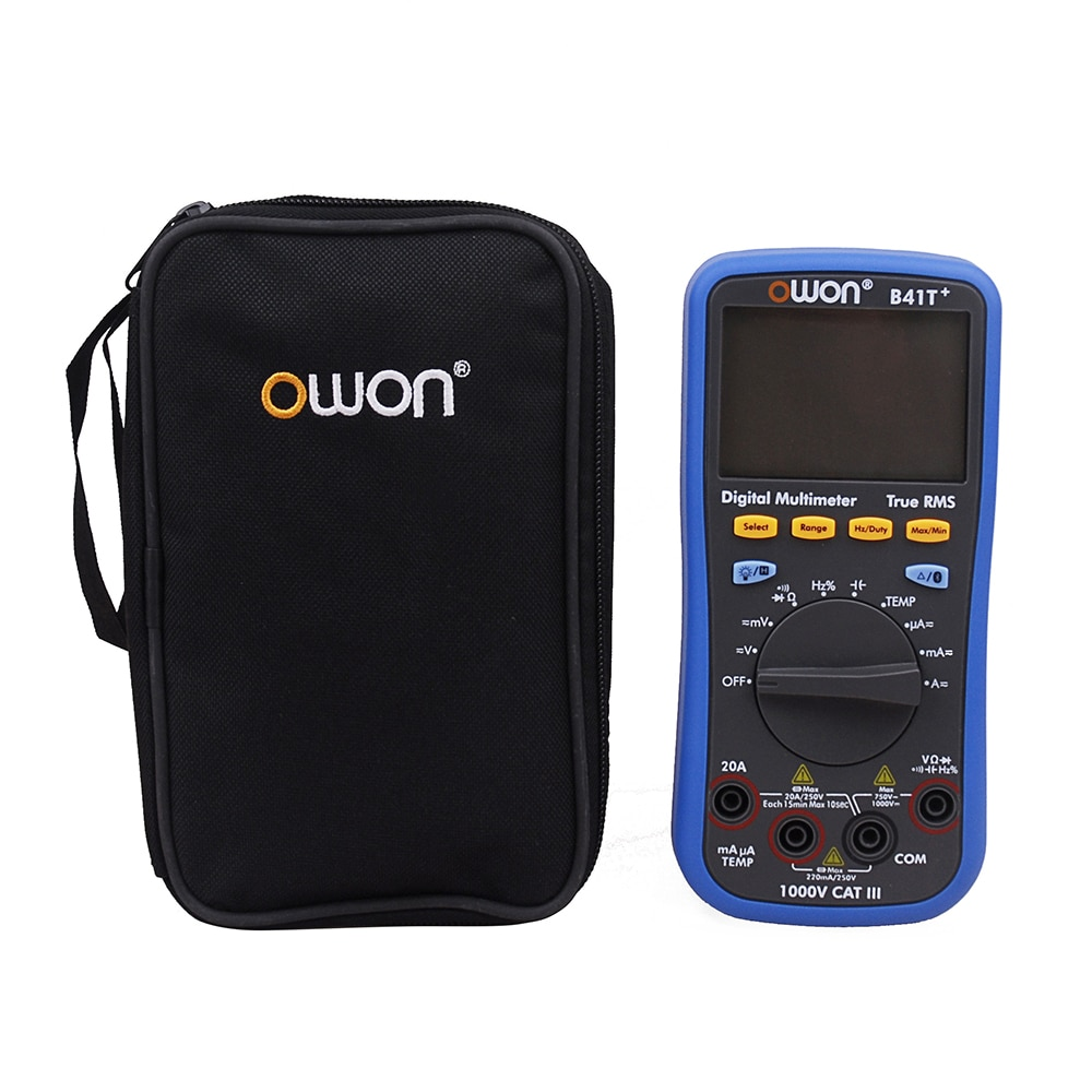 Owin B41T + 4 1/2 مقياس رقمي متعدد مع بلوتوث صحيح RMS الخلفية اختبار متر
