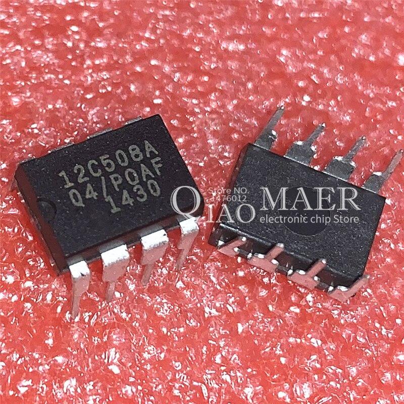 10 Uds 12C508A 12C508A-04/P DIP8 PIC12C508A-04I/P PIC12C508A-04/P 12C508 12C508/P