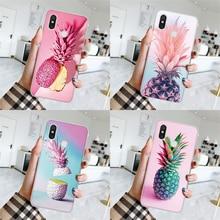TPU Ananas Pour Xiaomi Redmi K20 7A 8A 3S 4A 5 Plus 6A Aller S2 Note 3 4 5 4X 5A 6 7 8 Pro 8T Fundas Pour Redmi K20 Pro