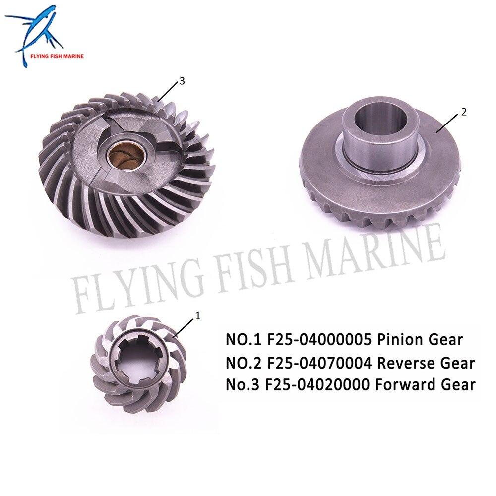 Engranajes para Mikatsu Parsun HDX F20 F25 caja de cambios reductora F25-04020000 engranaje delantero y piñón y F25-04000005 de F25-04070004